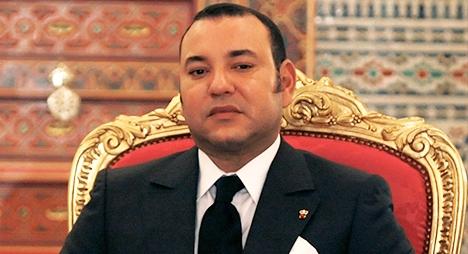 Le roi du Maroc Mohamed 6