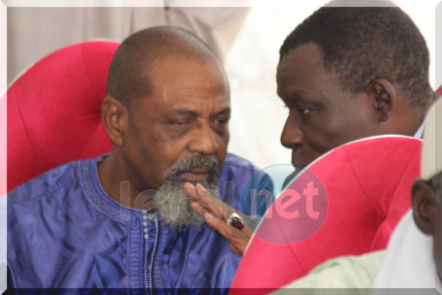 Pape Samba Mboup et Farba Senghor en toute complicité