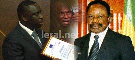 Exclusivité sur Leral: Les copies des deux lettres de Macky Sall à Bongo et les sales relations entre Wade et le président Gabonais