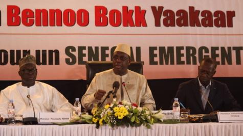"""Le Président Macky Sall: """"L'Exécutif ne participe nullement dans les affaires internes de la Justice"""""""