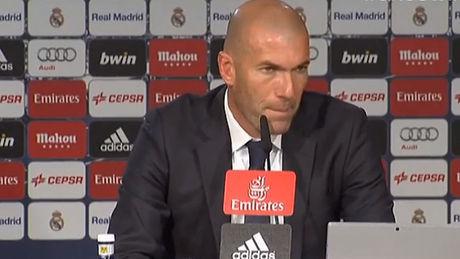 Clasico – Zidane : « trop d'occasions manquées »