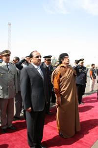Mauritanie / Libye : Mouammar Kadhafi accueilli en grande pompe à Nouakchott