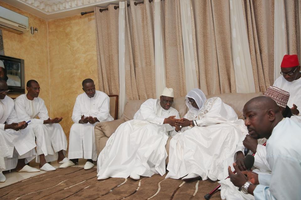 (04) Photos:137e édition de l'Appel de Seydina Limamou Laye, le Président Macky Sall à Yoff