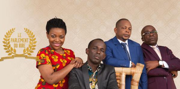 A Dakar, le trio de comédiens Mamane-Gohou-Digbé fait carton plein