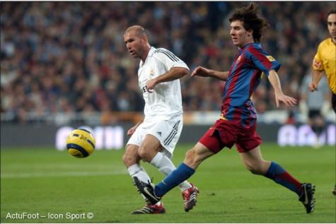 """Messi : """"Je ne demande pas à échanger mon maillot avec un autre joueur. Je ne l'ai fait qu'une seule fois. J'ai demandé à Zidane."""""""