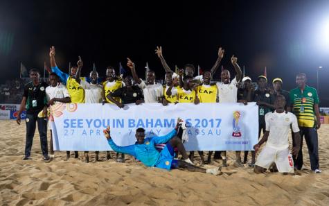 Beach Soccer: le Sénégal écrase (10-1) les Bahamas et se qualifie en quarts