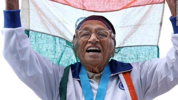 A 101 ans, elle remporte un 100 mètres !