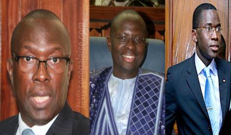 Aliou Sow entre deux chaises, Ndéné Ndiaye dans la mouvance présidentielle, Fada seul héritier de l'Efop
