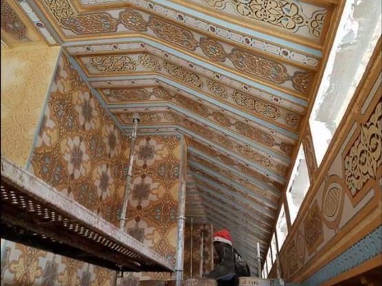 09 Photos : La mosquée Massalikoul Jinaan et ses magnifique décorations intérieures… contemplez!