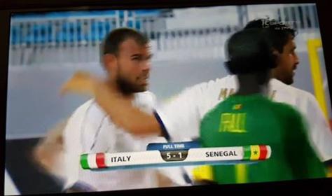 Mondial Beach Soccer-Quart de finale: Le Sénégal malmené et éliminé par l'Italie (5-1)