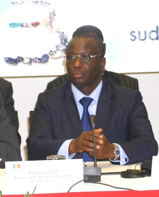 Abdoulaye Diop, ministre de l'Economie et des Finances (Sénégal)