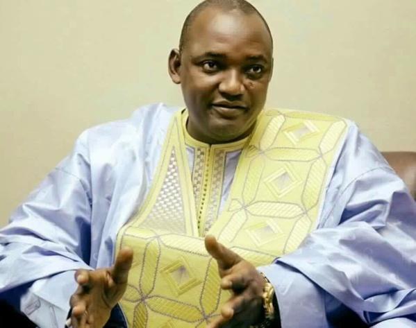 Exclusif-Séjour forcé à Dakar:  Adama Barrow logeait chez... Bibo Bourgi