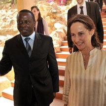 Ségolène Royal au Sénégal pour une visite axée sur le développement durable