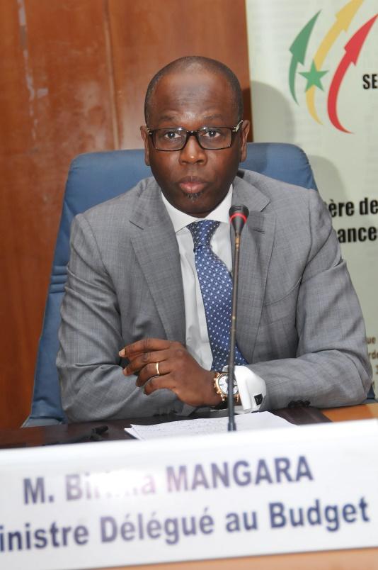 Cérémonie d'ouverture de l'atelier de validation de la LPSD: Discours du Ministre Délégué chargé du Budget, Birima Mangara (Officiel)
