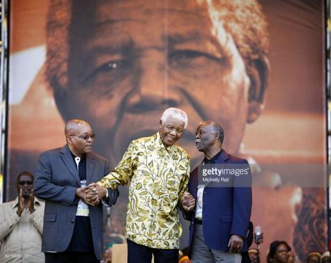 Afrique du Sud: scandale autour d'une peinture montrant Zuma en train de violer Mandela
