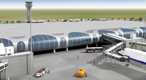 AIBD : L'incendie du magasin de stockage ne compromettrait pas l'ouverture de l'aéroport en décembre 2017