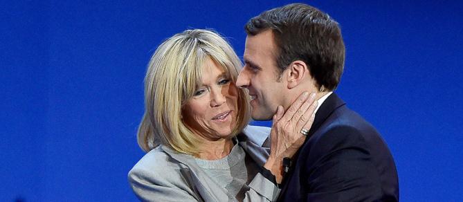 Emmanuel Macron et Brigitte ont la même différence d'âge que Donald et Melania Trump… mais c'est Brigitte qui est critiquée