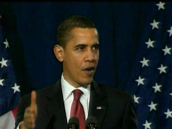 """Pour Obama, """"2009 va rester une année difficile pour l'économie"""""""
