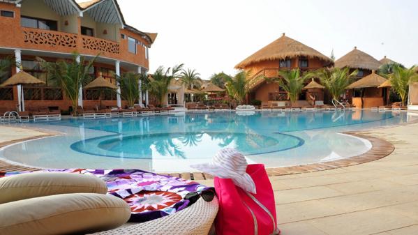 Hôtel Lamantin Beach du Sénégal.