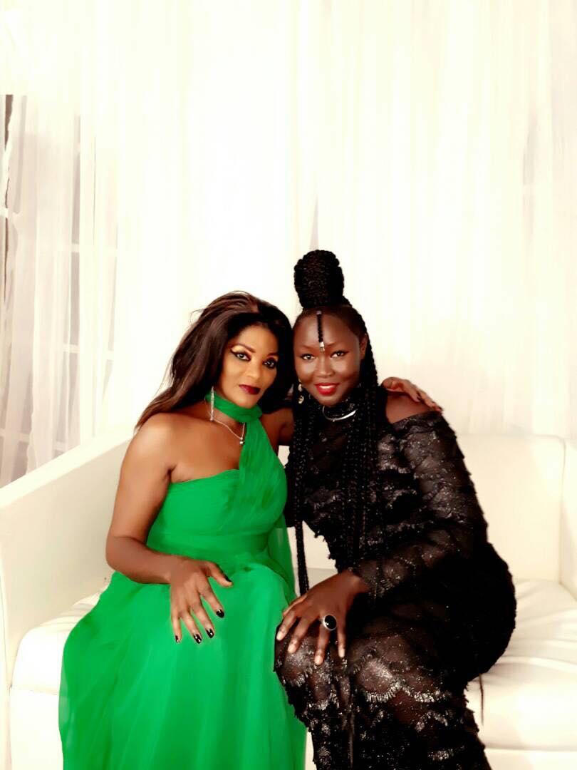 Maréma avec Monique Séka, chanteuse ivoirienne et reine de la musique Afro Zouk