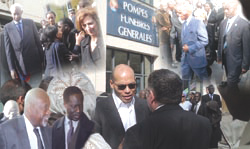 Abdoulaye Wade témoigne à la levée du corps à Paris : Comment la défunte femme de Karim s'est convertie à l'Islam