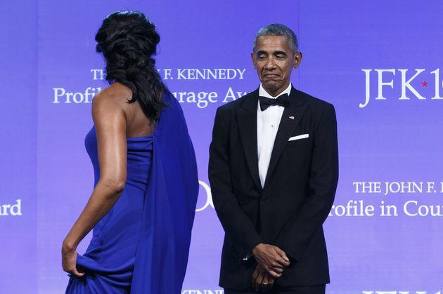 Barack Obama, toujours aussi fan de Michelle
