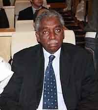 Mamadou Mbaré, le premier Président noir de l'histoire de la Mauritanie.