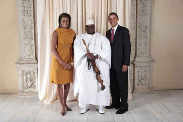 Trois frères de Yahya Jammeh arrêtés