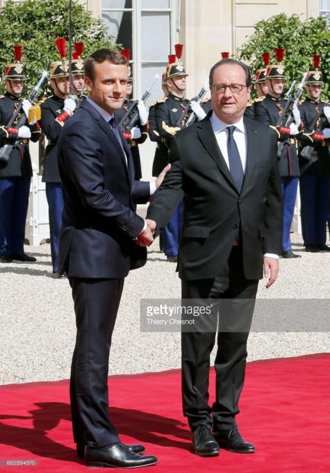 49 photos : Emmanuel Macron  officiellement investi dans ses fonctions de président de la République