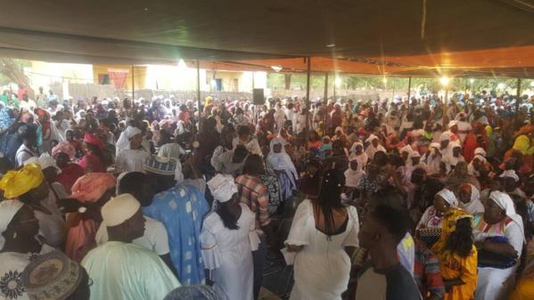 Awa Ndiaye remobilise ses troupes et leur octroie un financement de 100 millions FCFA
