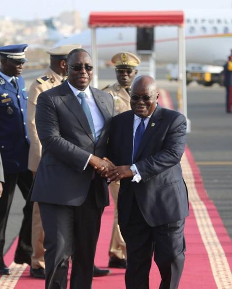Visite du Président de la République du Ghana, Son Excellence Nana Akufo-Addo du 15 au 17 mai au Sénégal