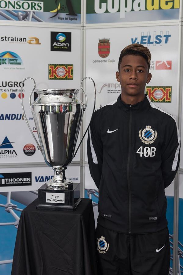 Le fils de Kalilou Fadiga, Noah, signe son premier contrat Pro au FC Bruges