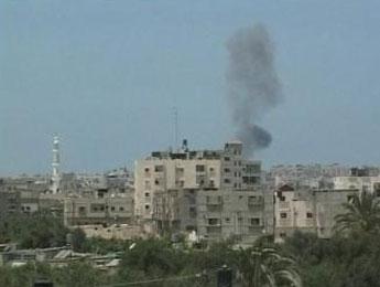 Raid aérien contre des tunnels de la bande de Gaza
