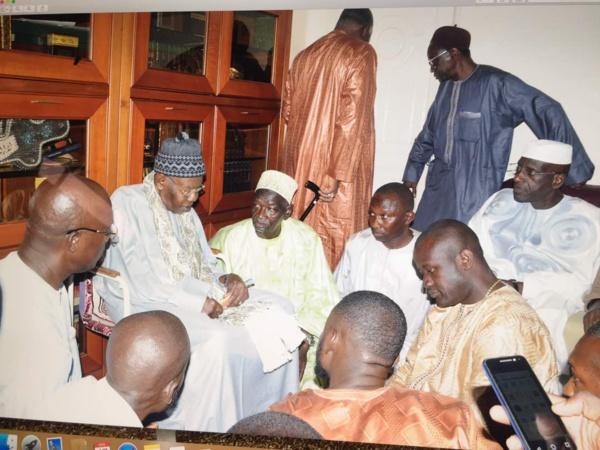 Le Comité d'Initiative pour la mise en place du Réseau National des Éleveurs du Sénégal (RENADES) à Touba ce vendredi