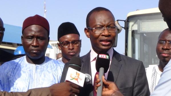 Me Moussa Diop, Directeur général de Dakar Dem Dikk et aussi leader politique du mouvement AG/Jotna.