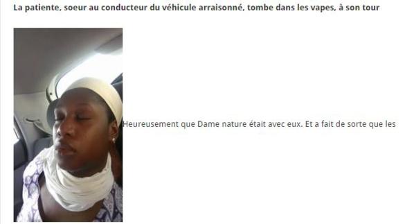 (06 photos) Autoroute à péage: Eiffage-Senac bloque deux patientes, jusqu'à ce qu'elles s'évanouissent…
