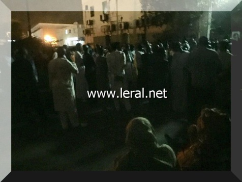 Vidéo-photos: Arrivée de la dépouille du fils de Cheikh Amar à l'aéroport de Dakar