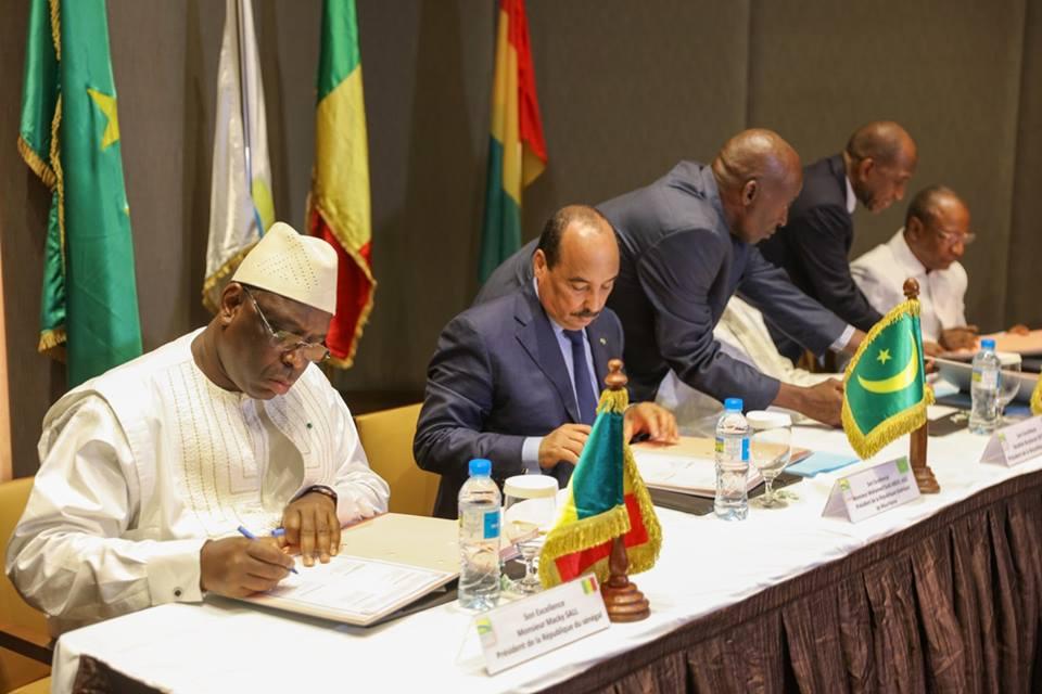 6 photos : Macky Sall à la 17e Conférence des chefs d'Etat et de Gouvernement de l'OMVS en Guinée Conakry