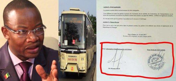 """Location des bus de Dakar Dem Dikk à lui-même, Moussa Diop traite ses camarades apéristes de """"jaloux"""""""