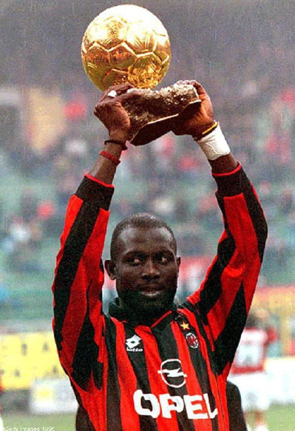 Diouf et Eto'o méritait de gagner le Ballon d'Or, selon Georges Weah
