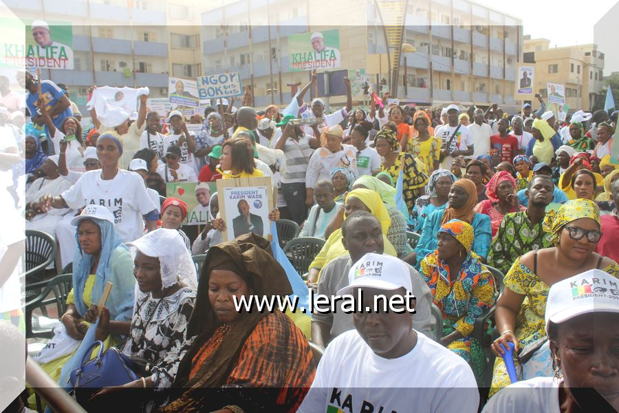 Les images du rassemblement de la coalition Manko Taxawu Sénégal