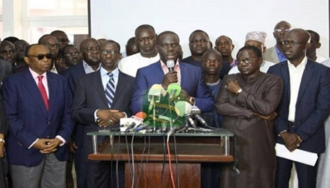 Rassemblement de Mankoo: Elène Tine, Bamba Fall, Pape Diop, Bamba Dièye, Oumar Sarr, Gakou, Fada et Idy mettent la pression sur le Président Macky Sall