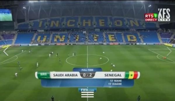 Mondial U20 : Le Sénégal domine l'Arabie Saoudite 2-0