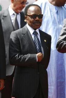 Omar Bongo a suspendu ses activités pour se reposer en Europe