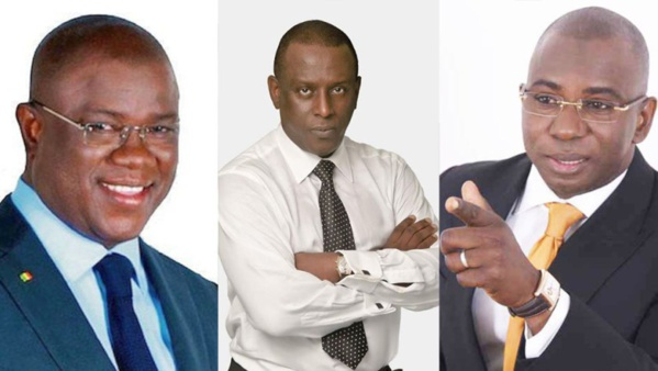 Abdoulaye Baldé, Cheikh Tidiane Gadio et Moustapha Guirassy en alliance pour soutenir le Président Macky Sall