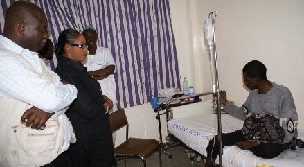Gora Dieng en soins intenses…