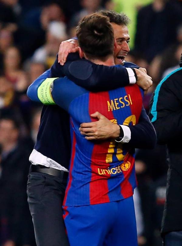 Départ de Luis Enrique: Le message émouvant de Messi