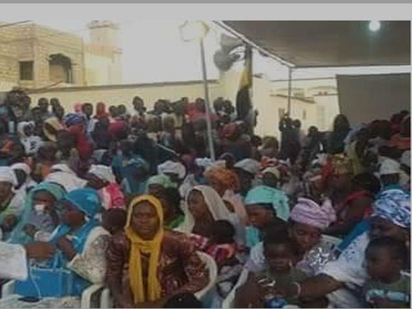 PVD : Suite à la main tendue par le Général de Bamba à la communauté Mouride, Ousmane Mbacké Borom Baakh rencontre une trentaine d'Associations