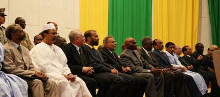 Mauritanie : Cérémonie officielle de signature de l'accord de Dakar