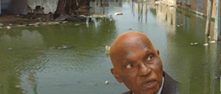 Gestion des inondations : Wade maintient la tête hors de l'eau